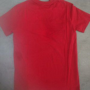 Givenchy Paris Red Short Sleeve T-Shirt